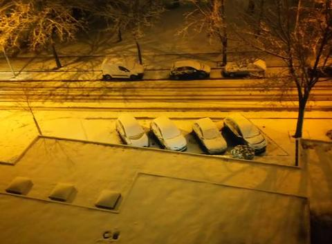 épisode neigeux en Côte d'Or