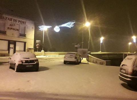 Neige en Meurthe-et-Moselle