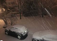 Neige Irigny 69540 Irigny sous la neige