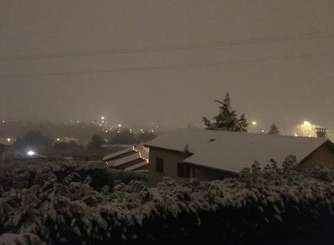 Chutes de neige - Ternay (69)