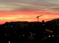 Ciel Rueil-Malmaison 92500 Couché du soleil