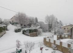 Neige Saint-Jean-de-Muzols 07300 Neige en Ardèche