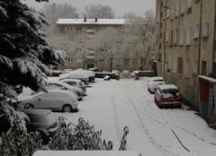 Neige Lyon 69009 Saint rambert bloqué 69009
