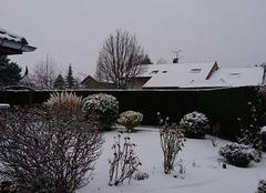 Neige Douvaine 74140 De la neige !!