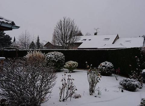 De la neige !!