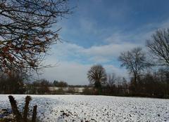 Neige Messimy-sur-Saone 01480 C est le de?gel dans le val de saone