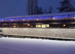 Neige Saint-Pierre-de-Chandieu 69780 Creche sous la neige