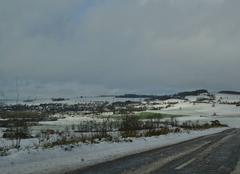Neige Mouzon 08210 Neige dans les Ardennes