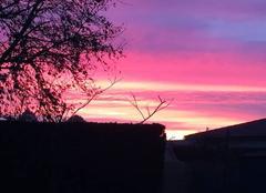 Ciel Saint-Avit 40090 Lever de soleil