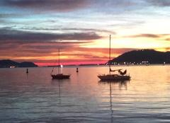 Ciel La Seyne-sur-Mer 83500 Début de journée colorée
