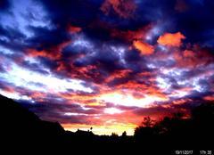 Ciel Freyming-Merlebach 57800 Coucher  de soleil