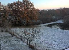 Neige Martiel 12200 2 decembre 2017 premiere chute de neige aveyron ouest 380 m
