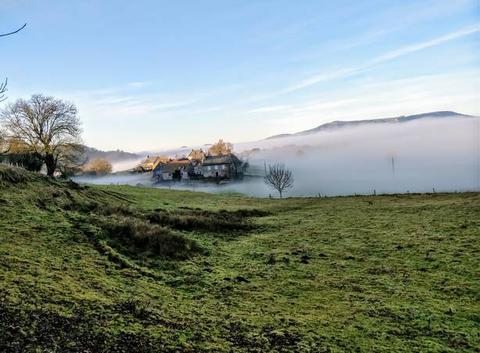 Brouillard à Vebret