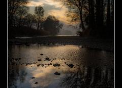 Ciel Saint-Sorlin-en-Bugey 01150 Le lit du rhone
