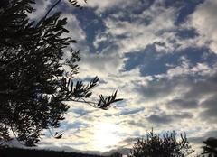 Ciel Chanos-Curson 26600 Soleil couchant