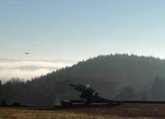 Prévision saisonnière Beaubery 71220 Vol de drône au-dessus d'un canon