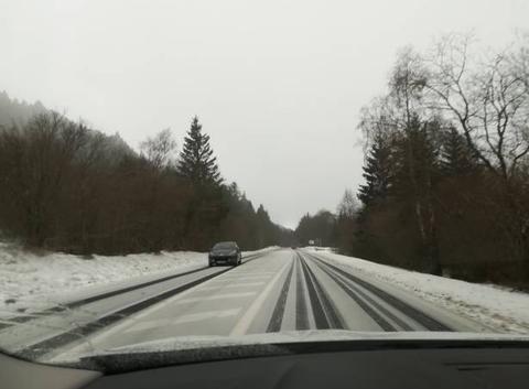 La neige aux portes de ClermontFerrand
