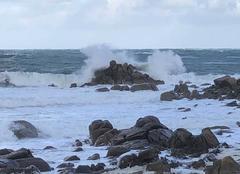 Tempête Cleder 29233 Bretagne