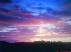 Ciel Blaye-les-Mines 81400 Coucher de soleil