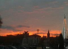 Ciel Carpentras 84200 Couché soleil
