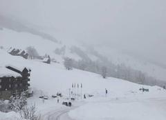 Neige Les Avanchers-Valmorel 73260 Tempête de neige