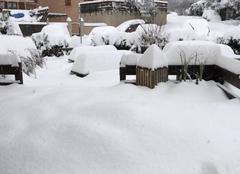 Neige Embrun 05200 Tempête de neige hautes alpes