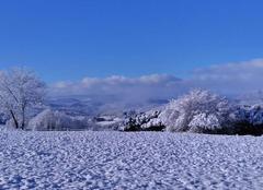 Neige Copponex 74350 Copponex sous la neige