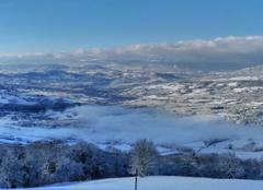 Neige Saint-Blaise 74350 Copponex sous la neige