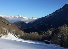 Neige Novel 74500 Montagnes