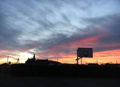 Ciel Abos 64360 Lever de soleil sur Abos, dernier jour de l?année