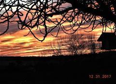 Ciel Nogaret 31540 Le soleil se couche et ne reviendra qu'en 2018.