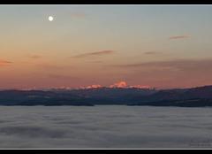 Ciel Ambleon 01300 Le mont blanc