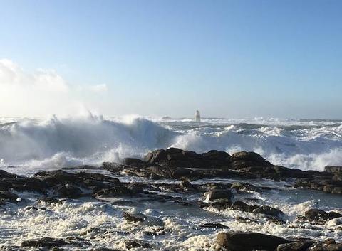 Tempête Carmen à L'Ile-d'Yeu