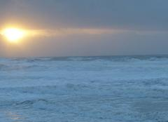 Mer Lacanau 33680 LACANAU PLAGE LE 1er janvier vers 17H