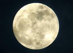 Ciel Clermont-Ferrand 63000 Super lune ce soir
