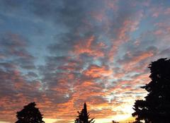 Ciel Villeneuve-les-Avignon 30400 Ciel du matin