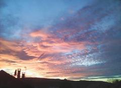 Ciel Vesoul 70000 Coucher de soleil
