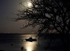 Ciel La Flotte 17630 Début de soirée du Lundi 01 Janvier 2018