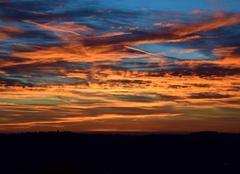 Ciel Grasse 06130 Lever de soleil