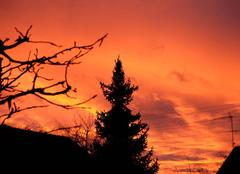 Ciel Nogent-sur-Vernisson 45290 Coucher de soleil