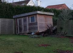 Vent Wervicq-Sud 59117 Tempête Eleanor