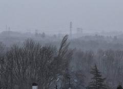 Tempête Auxerre 89000 Pluie et fort vent en ce moment