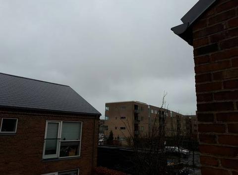 Copenhague nuageux et pluvieux