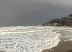Tempête Trouville-sur-Mer 14360 Tempête à Trouville