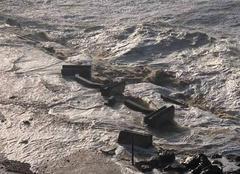 Tempête Wimereux 62930 Tempête, mer déchaîné
