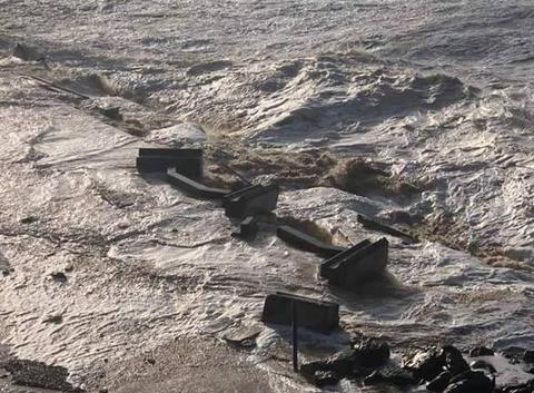 Tempête, mer déchaîné