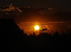 Ciel Lapalud 84840 Lever de soleil