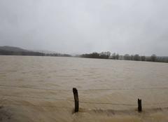 Pluie Vitrey-sur-Mance 70500 Crue de l'Amance