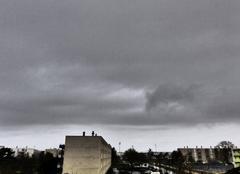 Ciel Niort 79000 Journée pluvieuse
