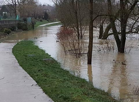Inondations à Joeuf 54240